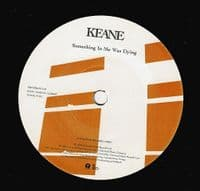 KEANE Bedshaped Vinyl Record 7 Inch Island 2004